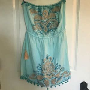 Calypso Size XS strapless dress